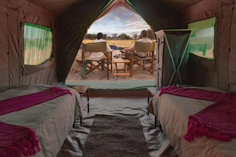 Lzuxury tented ensuite accommodation